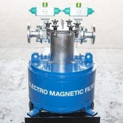 Electro magnetic filter