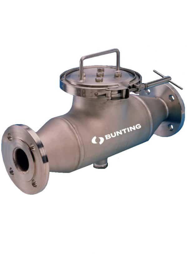 Bunting liquid pipeline