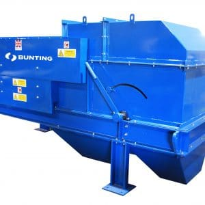 Cropped Eddy Current separator machine