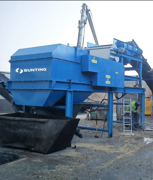 Buntings Eddy current separator 2