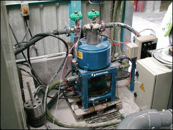Bunting Electro Magnetic filter system