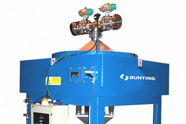 Bunting magnetic filter