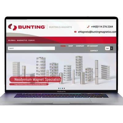 Bunting eMagnets Website