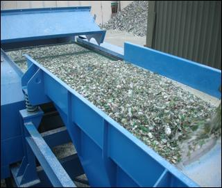 Plastics and glass processing