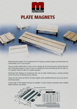 magnetic plates ‌