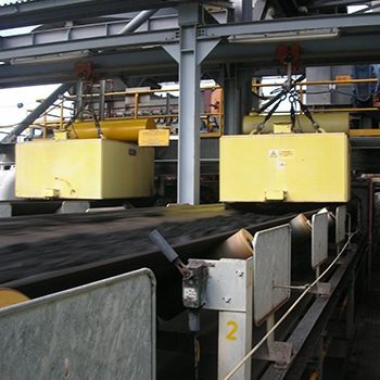 Suspension overband magnetic separator ‌