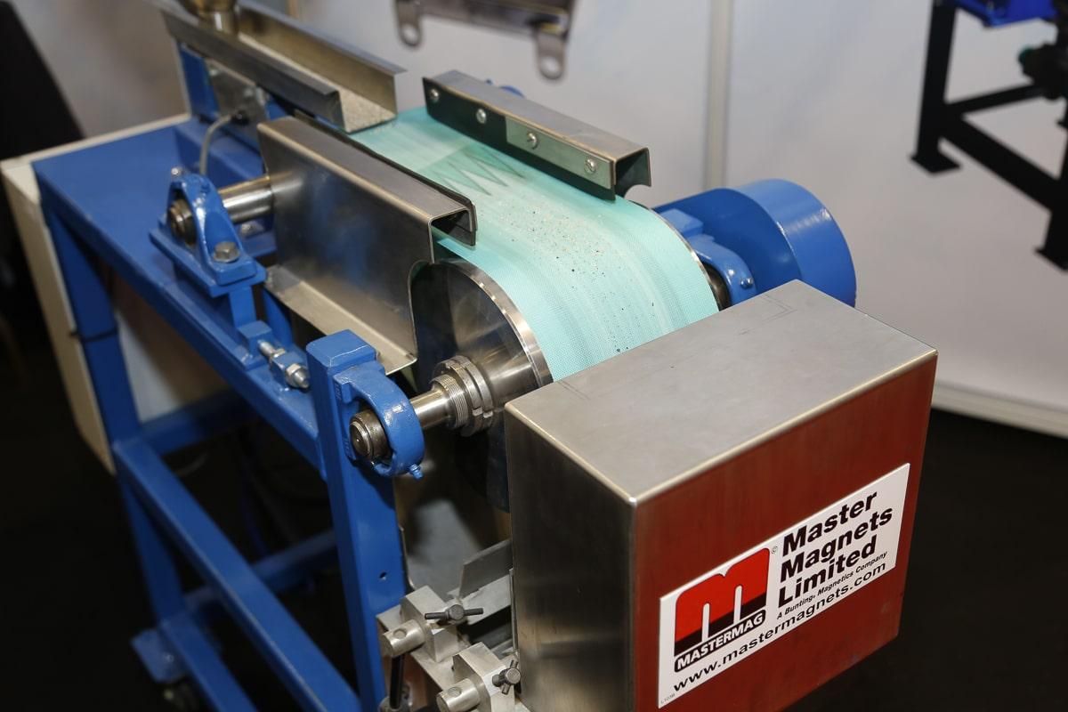 Laboratory Rare Earth Roll Separator at Ceramics UK 2019
