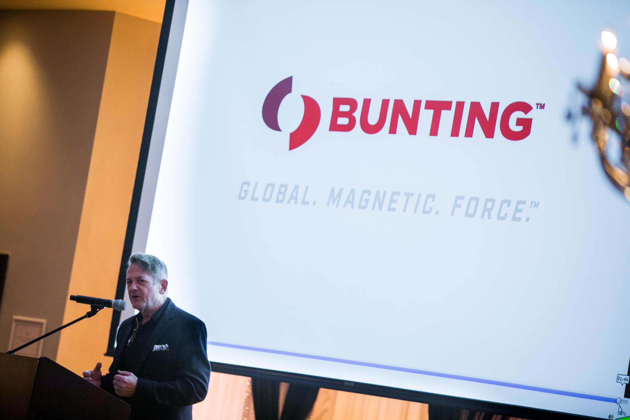 Bunting rebranding